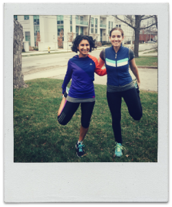 SOW runners polaroid